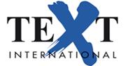 Logo Textinternational- Innenarchitekturbüro - Innenarchitekt Raum | Plan. Carola Baumgarten