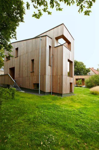 Holzhaus - Innenarchitekturbüro - Innenarchitekt in Berlin. Raum | Plan. Carola Baumgarten
