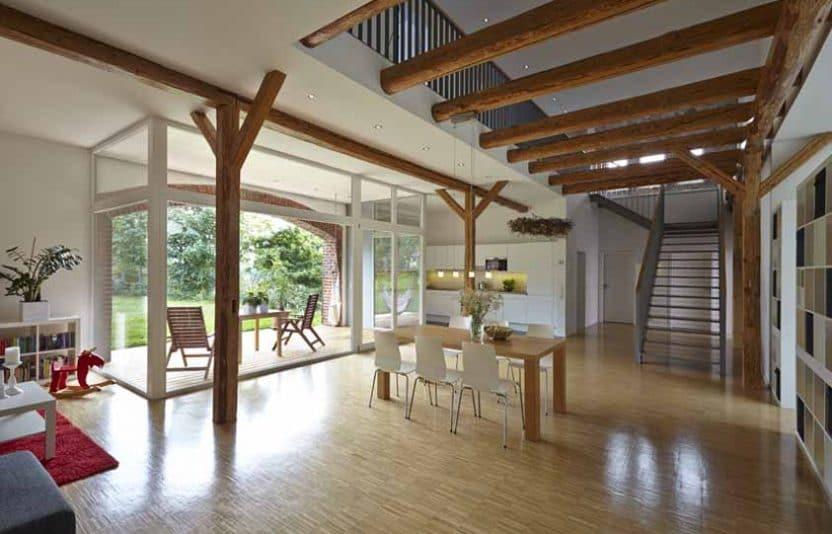 Scheune bei dresden zuhause wohnen innenarchitektur for Innenarchitektur dresden