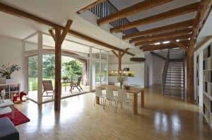 Scheune - Innenarchitekturbüro - Innenarchitekt Raum | Plan. Carola Baumgarten